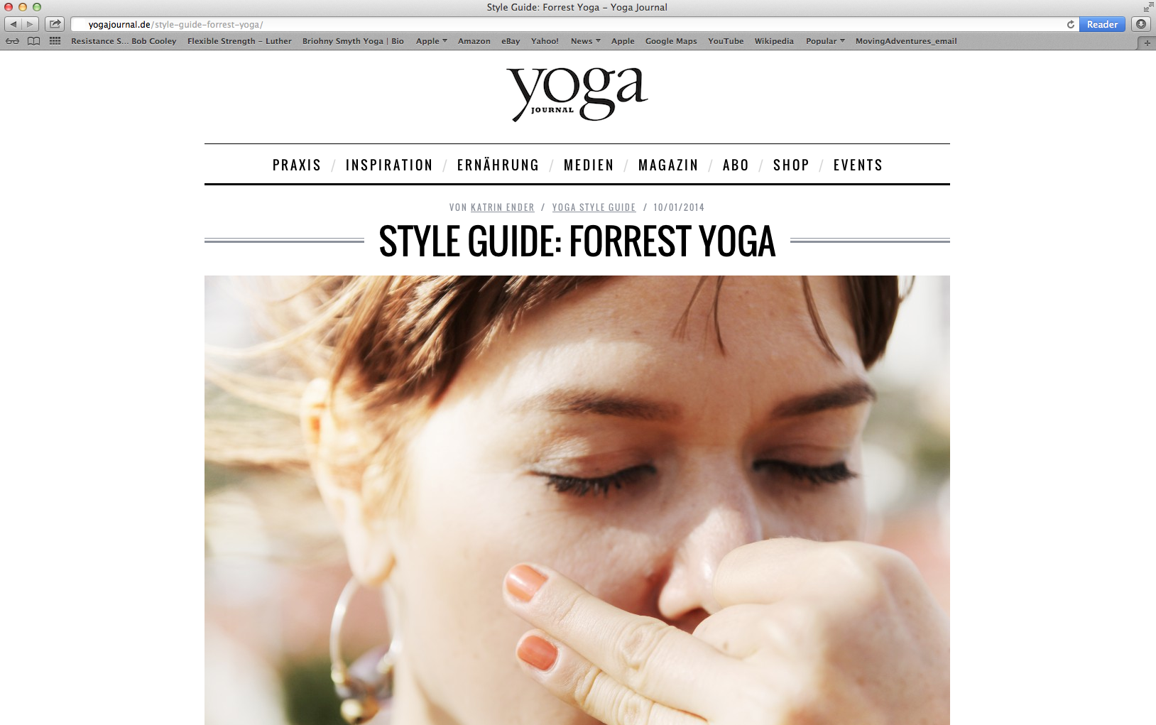 Style Guide Forrest Yoga Forrest Yoga Wellness Massages